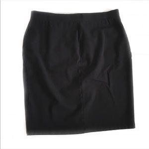 Liz Claiborne Women's Black Pencil Skirt XL